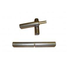 16х140 Петля для металлических решеток с втулкой.
