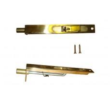 Шпингалет врезной G-034-6` 150мм золото